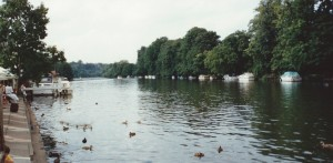 The Thames At Pangbourne where I learnt to scull